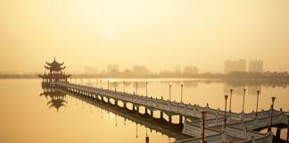 Một thoáng yên bình Hồ Sen ở Cao Hùng