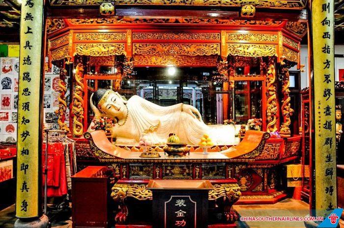 Chùa Phật Ngọc - Thượng Hải