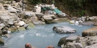 Suối nước nóng ở núi Shamao