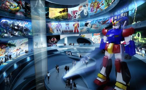 Ấn tượng với bảo tàng truyện tranh và hoạt hình của Trung Quốc
