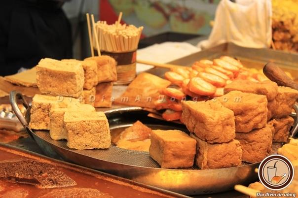 Thưởng thức đậu hũ thối ở Đài Loan