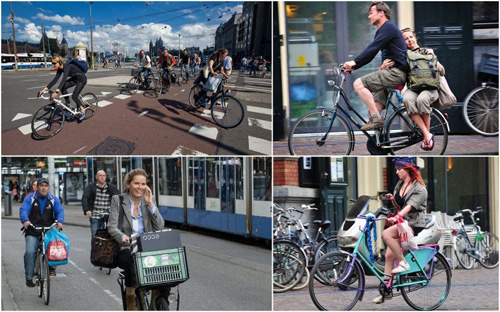 Đạp xe xu hướng thời thượng ở london
