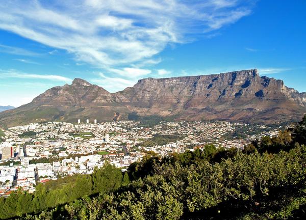 Đến Nam Phi leo núi Bàn