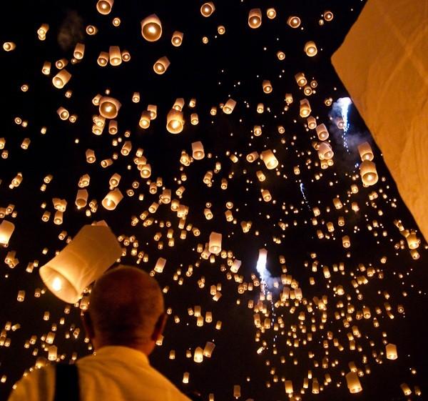Rực rỡ lễ hội đèn trời ở Đài Loan
