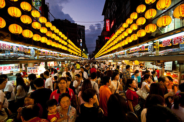 Trải nghiệm chợ đêm Đài Loan