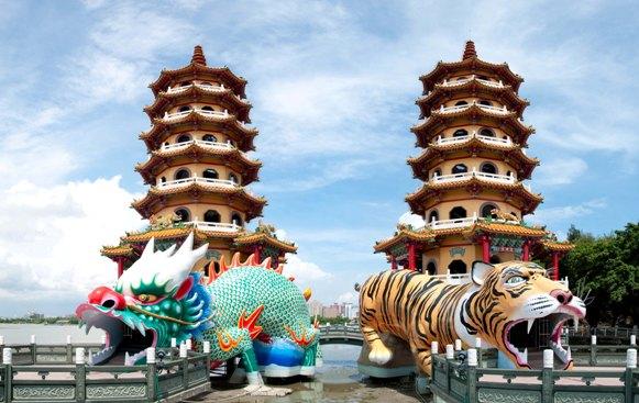 Những ngôi chùa ấn tượng của Đài Loan