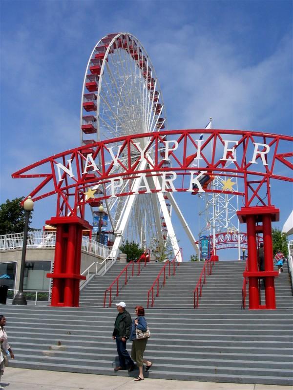 """Navy pier """" thành phố trong thành phố"""""""