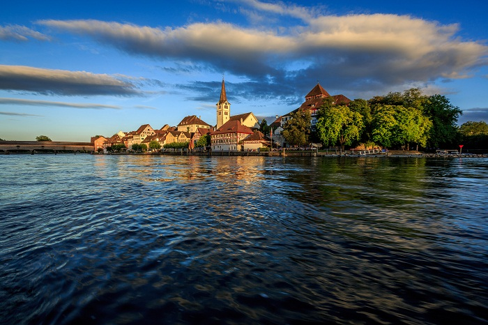 Sông rhine lãng mạn