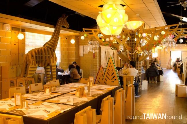 Nhà hàng theo chủ đề độc đáo ở Đài Loan