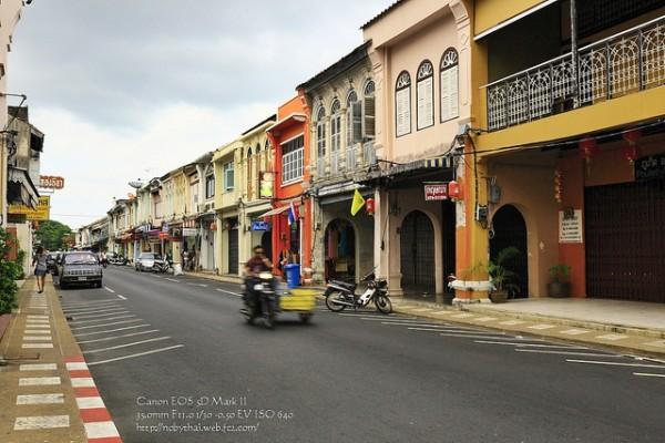 Lang thang góc phố cổ ở Phuket