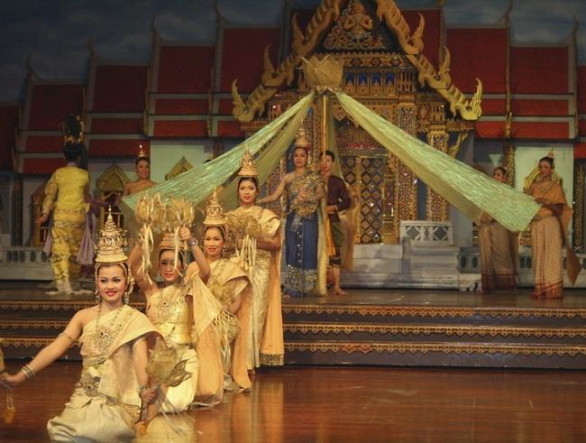 Múa Thái nét đẹp của người Thái Lan