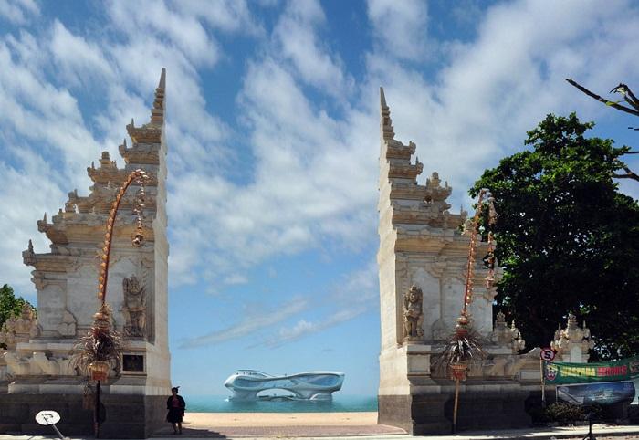 Ngôi chùa ở Bali