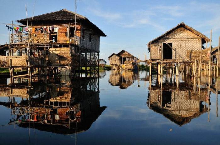 Lặng nhìn hồ Inle ở Myanmar