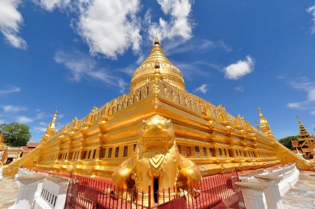 Chiêm ngưỡng ngôi chùa vàng Shwezigon ở Myanmar