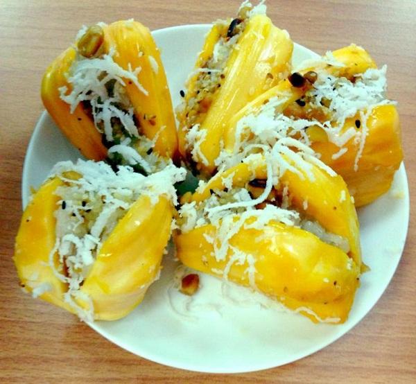 Hấp dẫn xôi trái cây ở Thái Lan