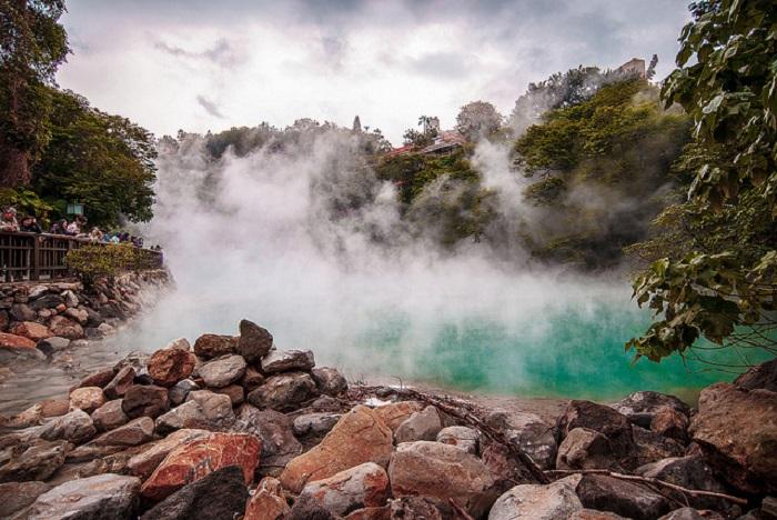 Nét yên bình của núi Dương Minh