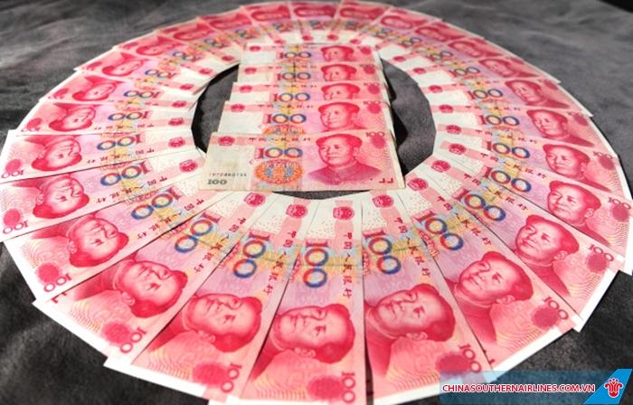 Đổi tiền Nhân dân Tệ trước khi du lịch Trung Quốc