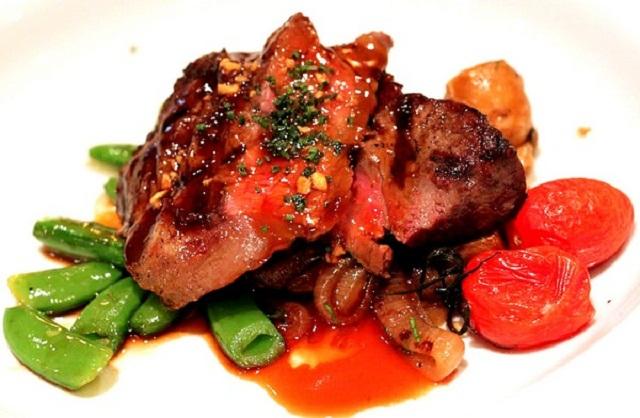 Món ăn chế biến từ thịt Kangaroo