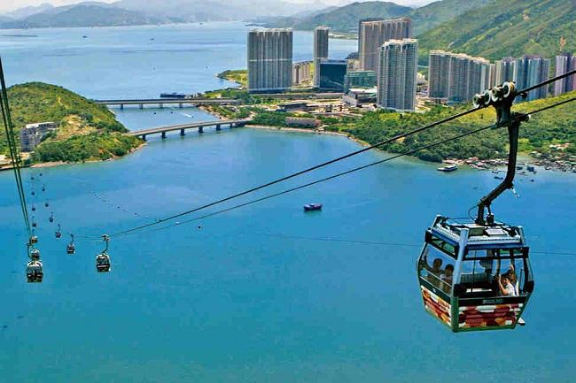 Khám phá vẻ đẹp Hong Kong trên cáp treo Skyrail