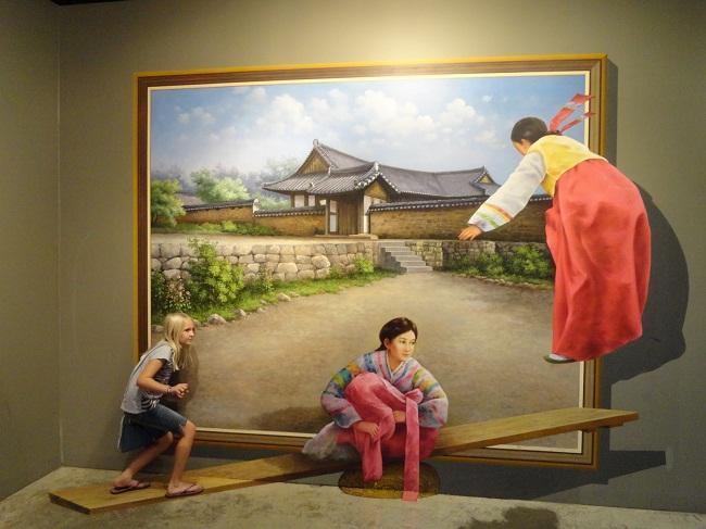 Thú vị bảo tàng đánh lừa thị giác ở Singapore