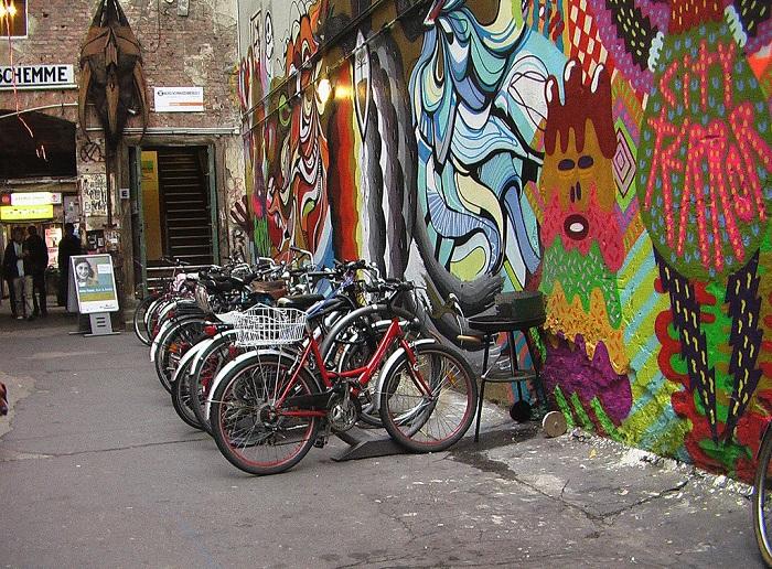Xe đạp là phương tiện được nhiều người Đức lựa chọn