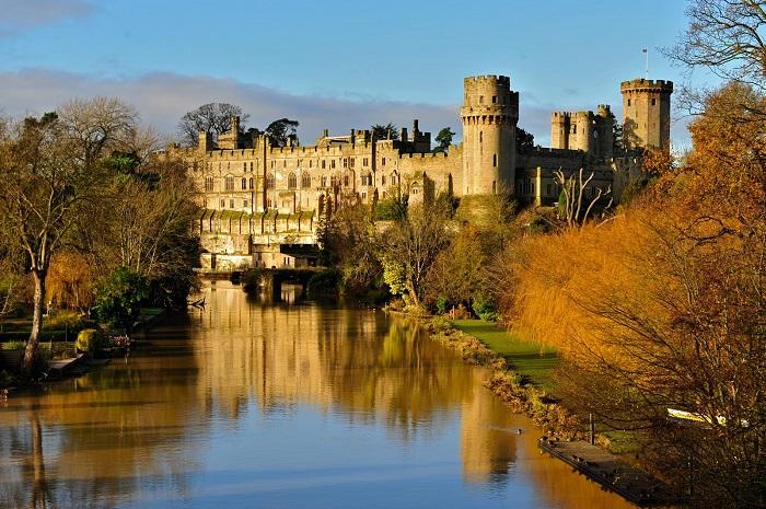 Khám phá lâu đài Warwick cổ kính