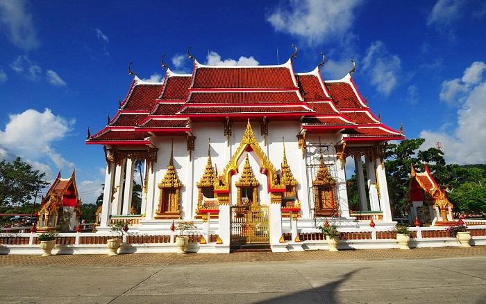 sự linh thiêng của Wat Chalong
