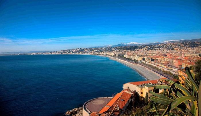 Đường ven biển Promenade des Anglais