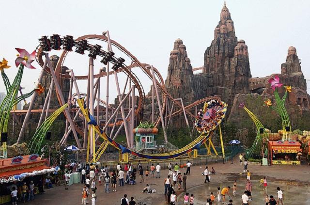 Window on China Theme Park khu vui chơi giải trí tuyệt vời tại Đài Loan