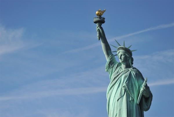 Tượng nữ thần tự do biểu tượng của nước Mỹ