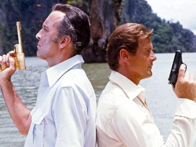 Hình ảnh quen thuộc trong bộ phim điệp viên 007