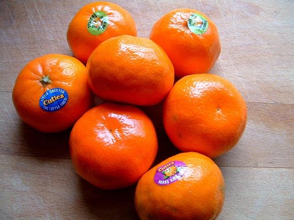 Những trái quýt tượng trưng cho sự may mắn