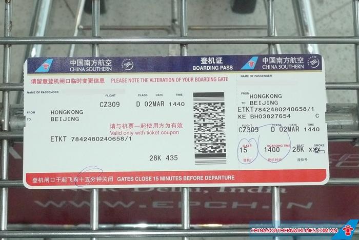 Tìm hiểu kỹ quy định hoàn đổi vé China Southern Airlines để phòng trường hợp phải thay đổi chuyến bay