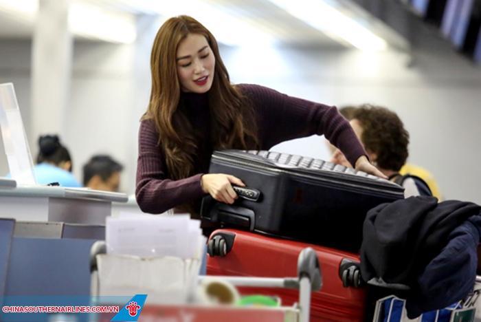 Quy định hành lý được mang lên máy bay của China Southern Airlines
