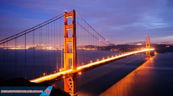 Chiêm ngưỡng và lạ mắt ngắm nhìn thành phố San Francisco