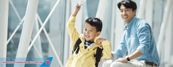 Nếu bạn là trẻ  em đồng hành cùng China Southern Airlines nên chú ý