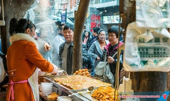 Ẩm thực đường phố Thành Đô