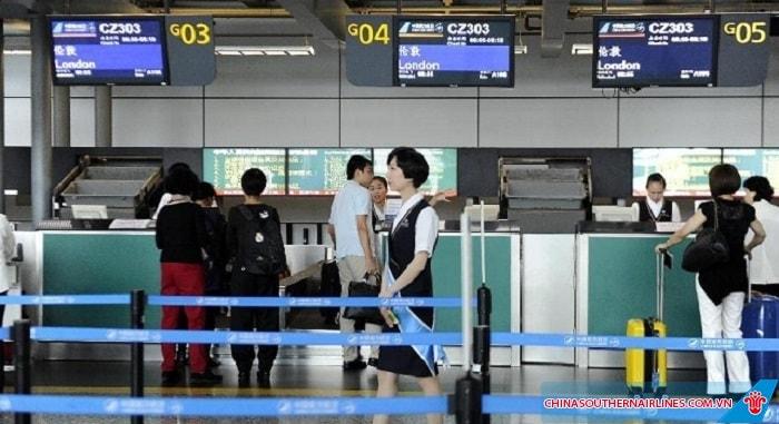 Quy định thủ tục check - in China Southern Airlines