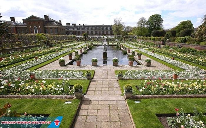 Khuân viên cung điện Kensington