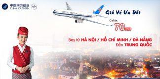 China Southern Airlines khuyến mại chào hè 2018