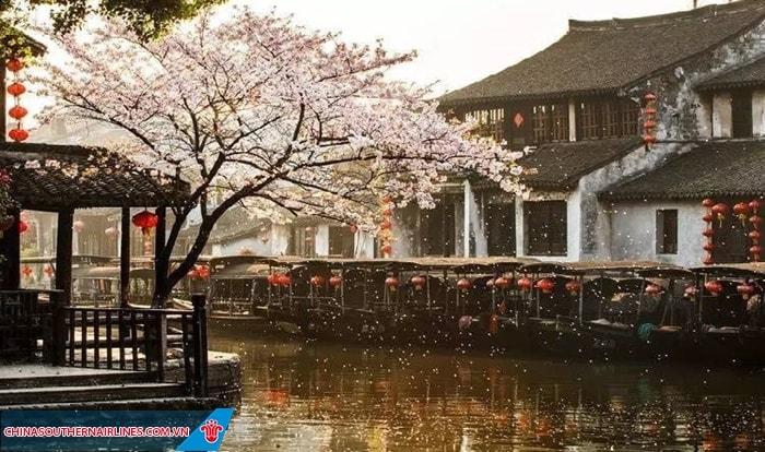Cảnh đẹp xưa cũ ở cổ trấn Tây Đường
