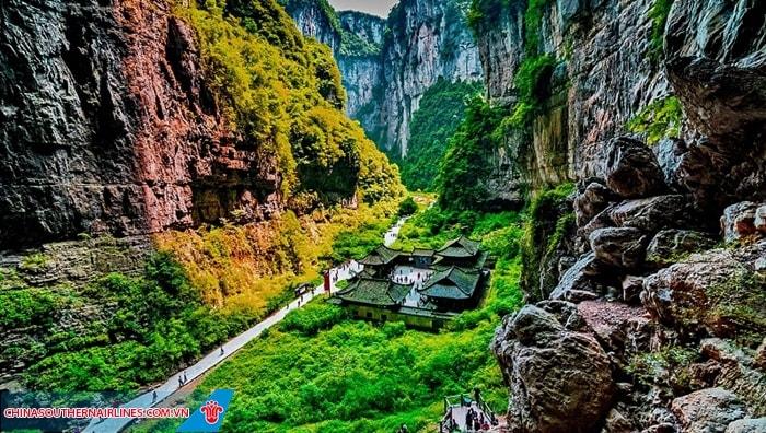 Công viên địa chất Vũ Long – Trùng Khánh