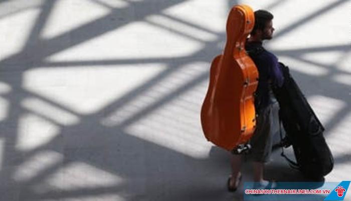 Nhạc cụ phải đảm bảo các quy định về hành lý