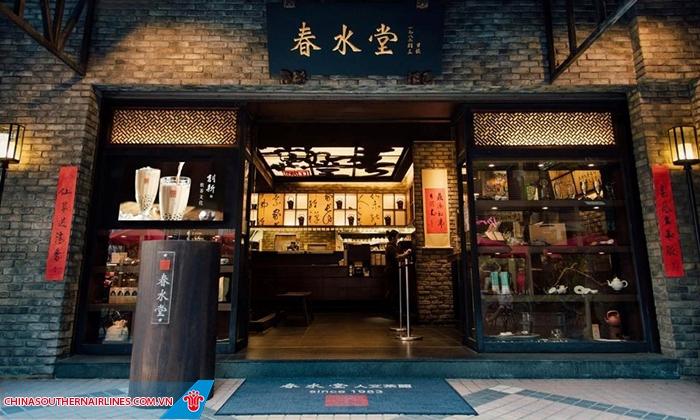 CHUN SHUI TANG nơi trà sữa được sinh ra