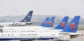 Máy bay China Southern tại sân bay Quảng Châu