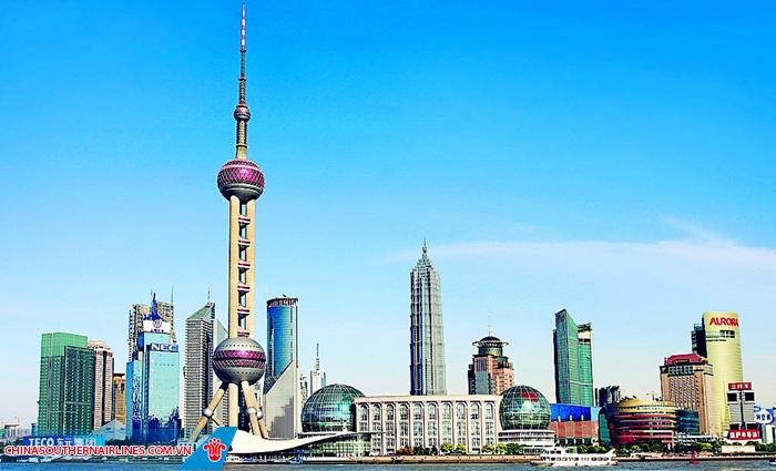 Tháp truyền hình Đông Phương Minh Châu - niềm tự hào của người dân Thượng Hải