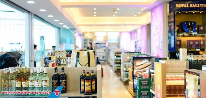 Cửa hàng ở các sân bay đều là cửa hàng miễn thuế
