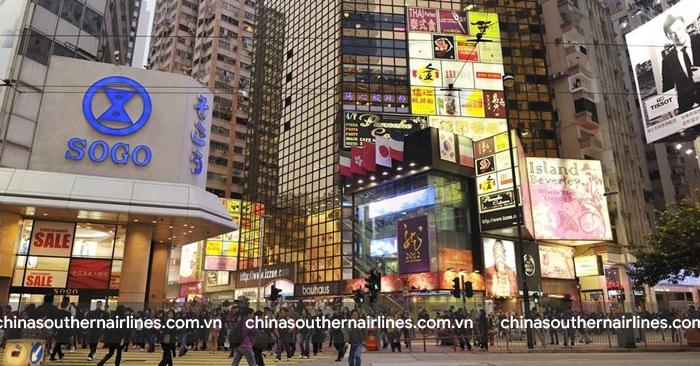 Causeway Bay khu mua sắm sầm uất nhất Hong Kong