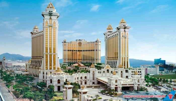 Macau cực kì giàu có nhờ kinh doanh sòng bài