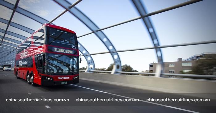 Xe bus 2 tầng đặc trưng ở Melbourne